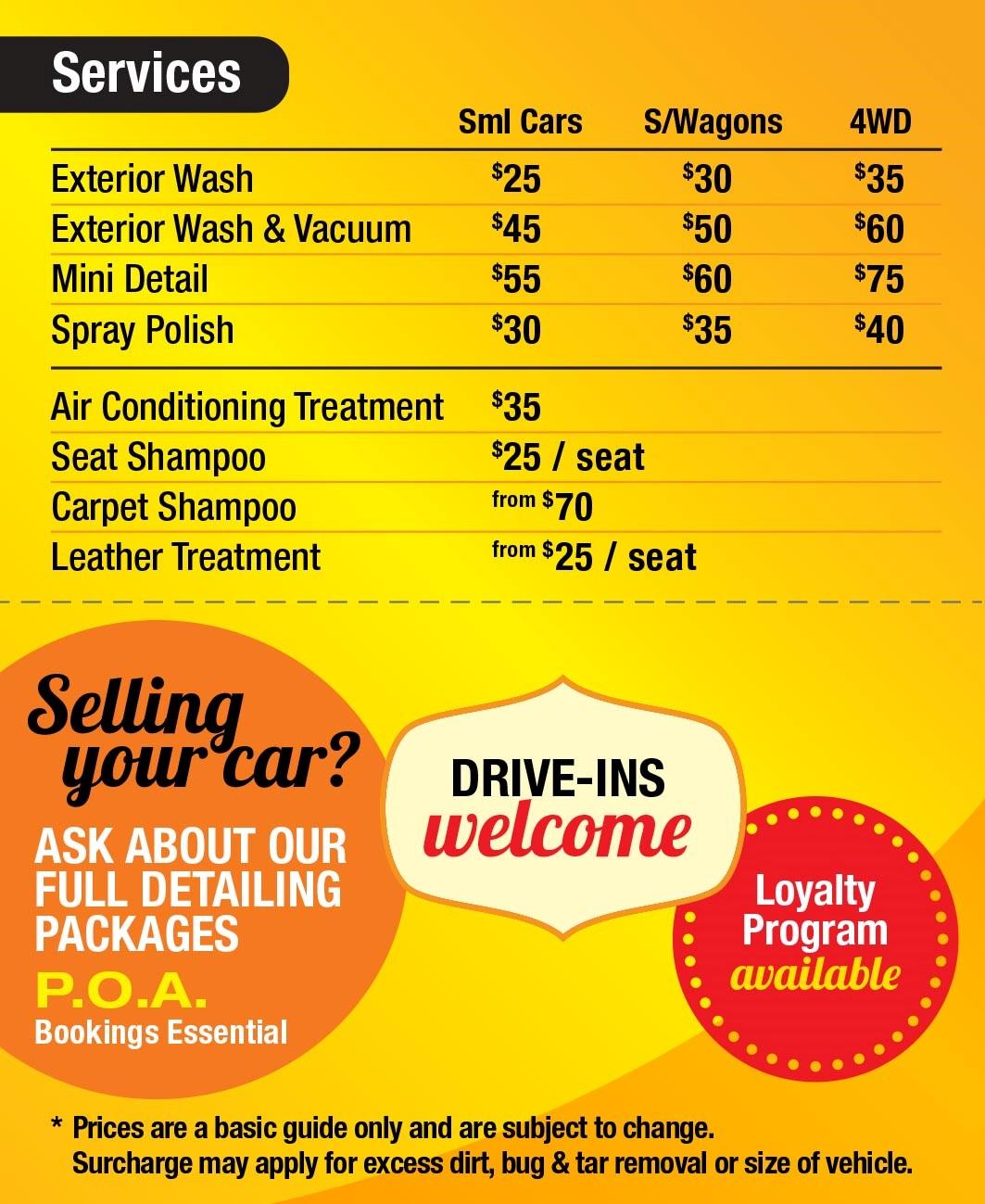 Booval Fair Car Wash